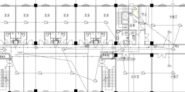 某招待所电气设计图_2