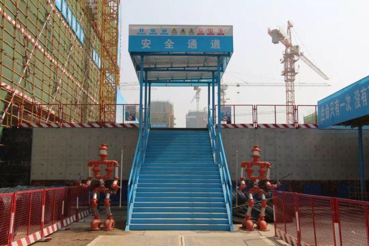 中建五局碧桂园项目施工现场安全文明标准化照片