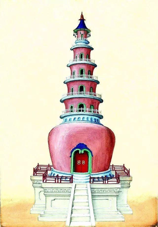 另一个视角:外国人画笔下的中式古典建筑_14