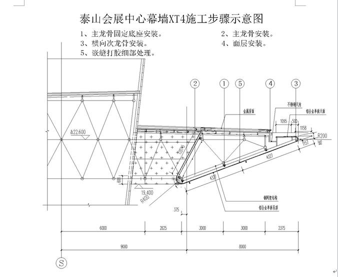 山东省泰山会展中心施工组织设计(377页)