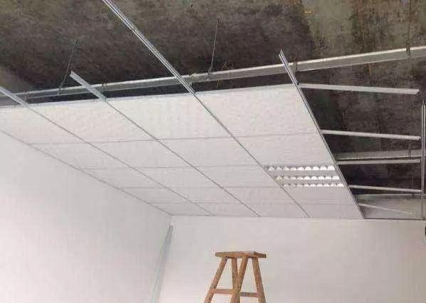 天棚(吊顶)的种类、材料、工程量计算