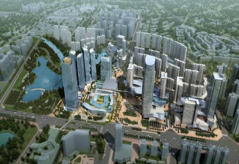 [四川]成都珠江新城国际A区规划设计方案文本