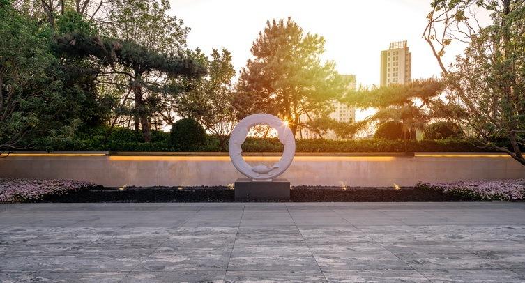 北京阳光城京兆府新中式住宅景观-1 (19)