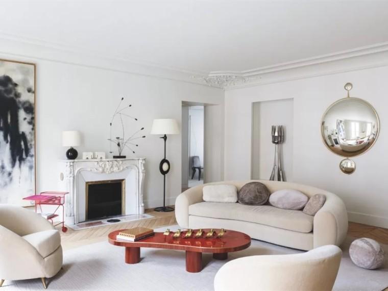 巴黎未来主义的美学公寓