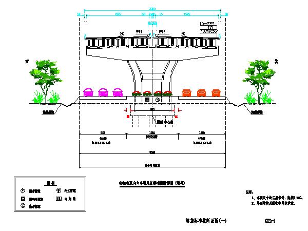 二级公路设计全套图