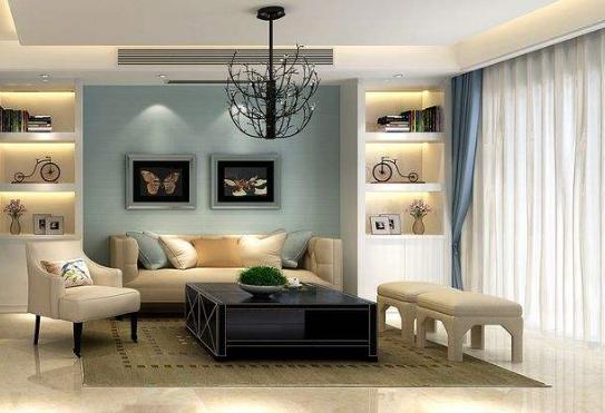 赣州客厅装修的几种方式,不同的功能打造完美客厅