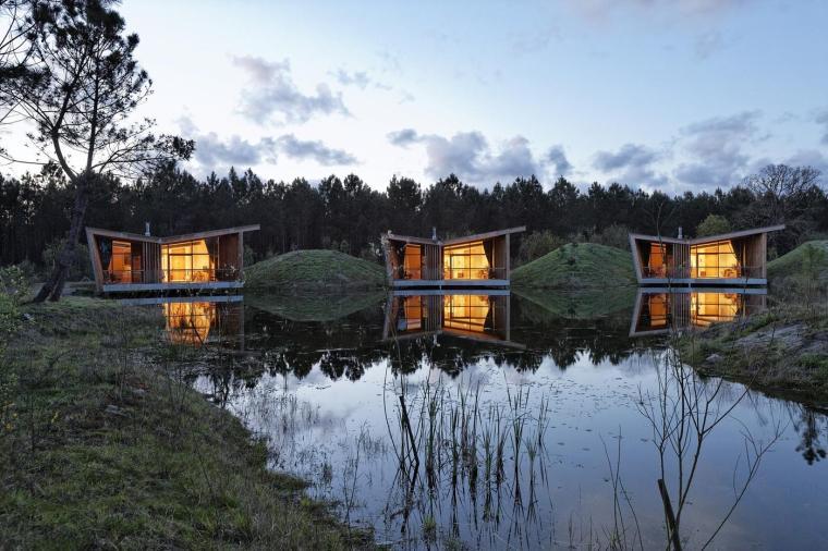 法国风景如画的生态酒店-16