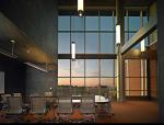 中央密歇根大学教育与公共事业学院室内设计方案(含18张图)