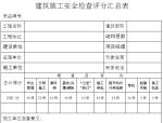 建筑工程安全管理资料(全套)