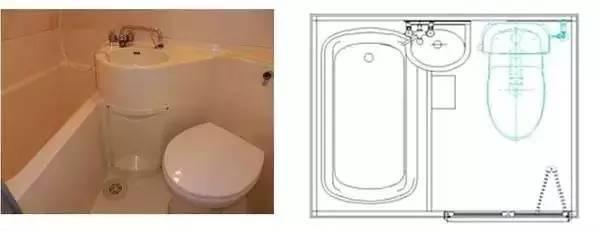 四式分离的卫生间设计,几种标准的尺寸和布局方式!!