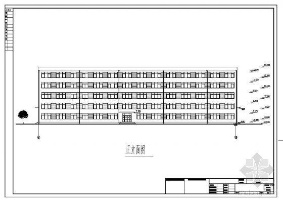 [学士]某五层框架教学楼毕业设计