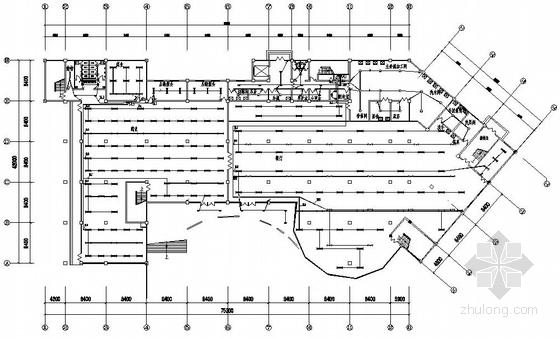 山东某学校学生餐厅电气施工图