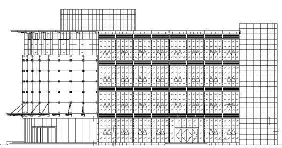 综合办公楼幕墙工程施工图