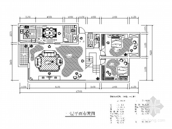 [武汉]某复式公寓设计方案装修图