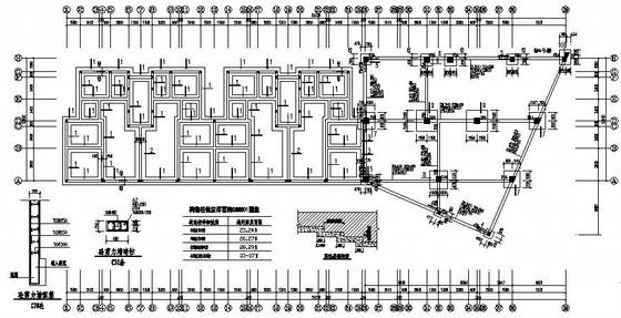 五层框架结构8号住宅楼施工图(坡屋面 架空层)