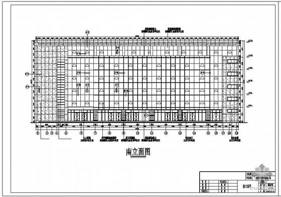 某福彩中心营业楼幕墙设计图(含计算书)