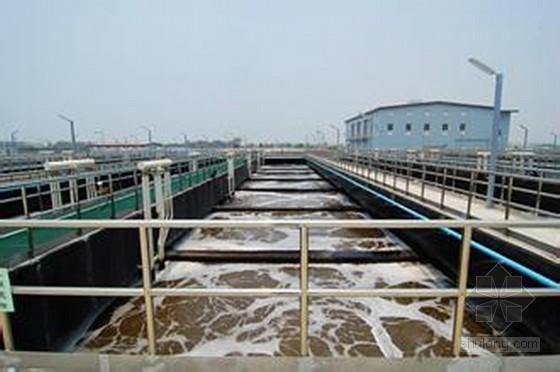 [新疆]某市污水处理厂优秀毕业设计(含有设计图纸)