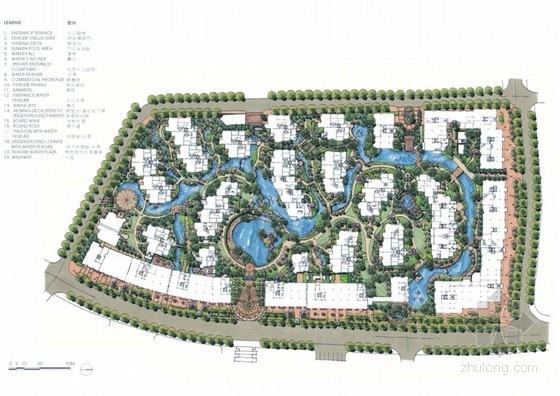 [杭州]新中式居住区景观规划设计方案