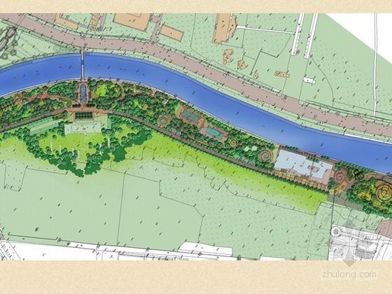 [成都]某河道沿岸景观改造工程概念设计方案