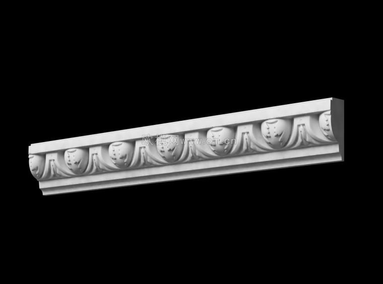 欧式石膏线条装修