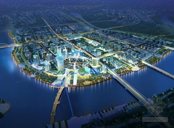 [内蒙古]沿江城市核心地块概念性规划设计方案文本