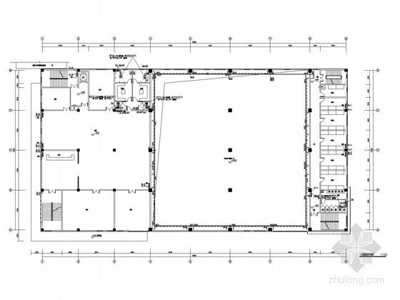 [辽宁]多层体育建筑采暖通风系统设计施工图