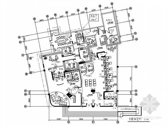 [北京]股份制商业综合金融机构装修施工图
