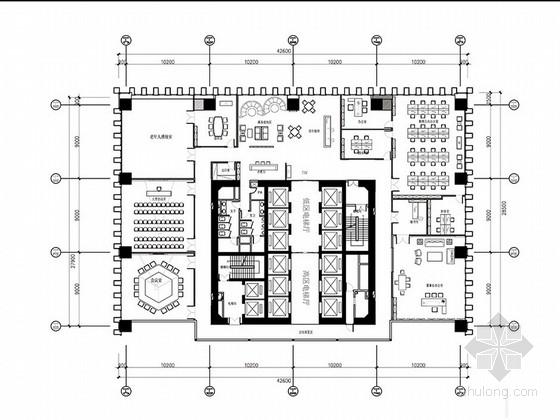 [福建]现代风格早教中心办公室室内设计方案