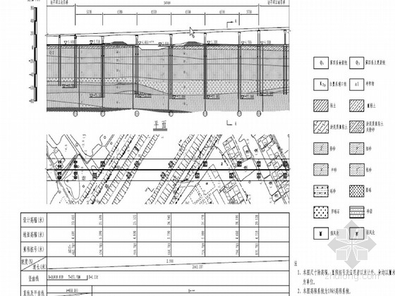 65m跨节段预制悬臂拼装预应力连续箱梁桥施工图242张(知名大院 双向预应力)