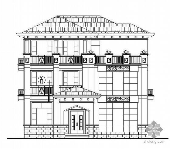 [广东]某三层私人小别墅建筑施工图
