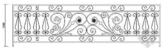 欧式栏杆详图49