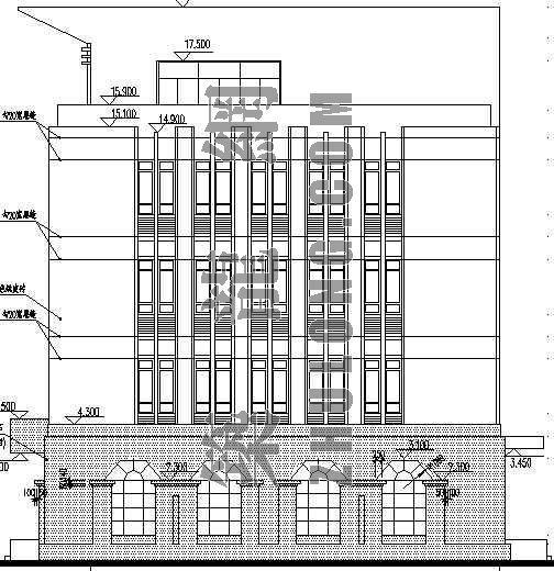 某村委办公楼建筑施工图-3