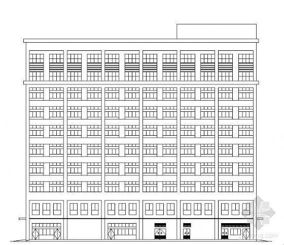 [珠海]某十层厂房建筑设计图纸
