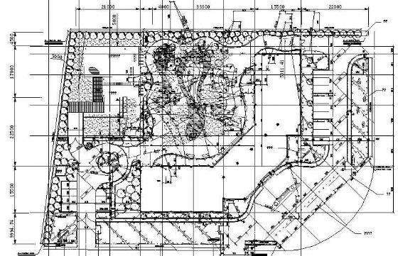 海南写字楼环境全套施工图-2