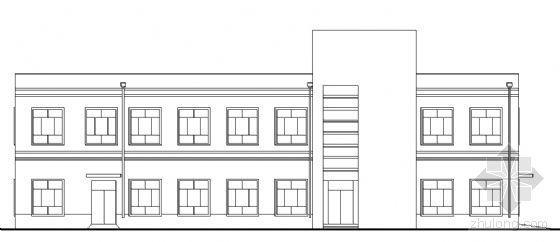 某二层医务所建筑方案图