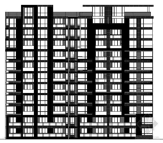 某十一层住宅楼建筑方案图