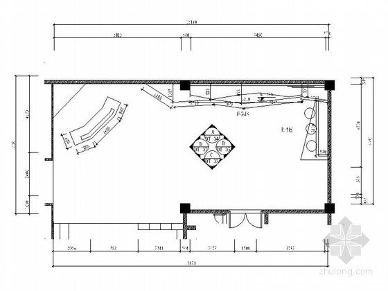 [厦门]现代高档KTV大厅室内施工图(含效果)