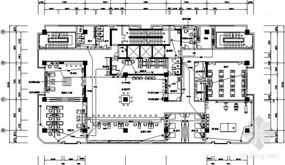 地税营业厅电气设计图