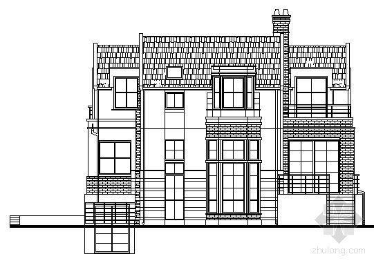 某二层独立别墅设计方案(38号楼)