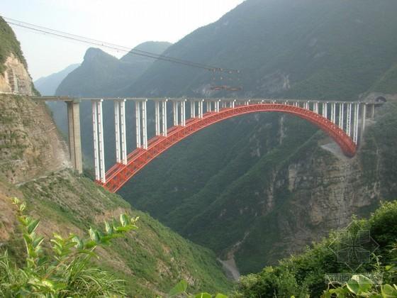 大型钢管混凝土拱桥实施性施工组织设计(82米高墩 翻升模板)