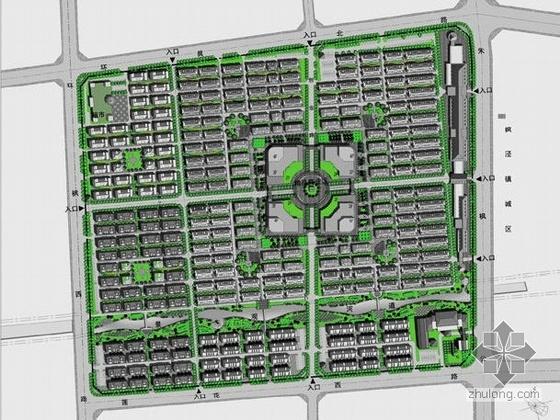 上海商业区绿化工程方案设计
