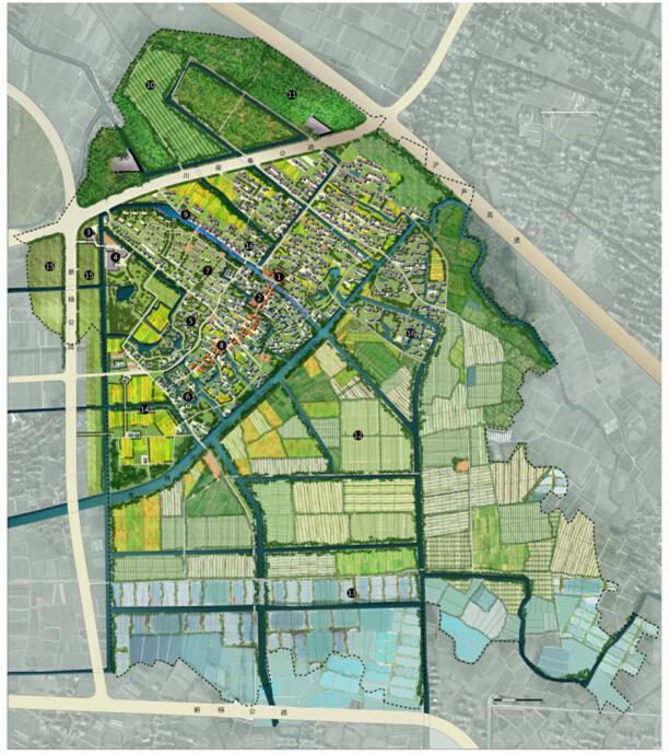 [上海]生态村庄景观规划设计文本