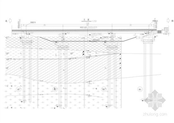 30+40+30m等截面连续钢箱梁桥设计施工图(34张)