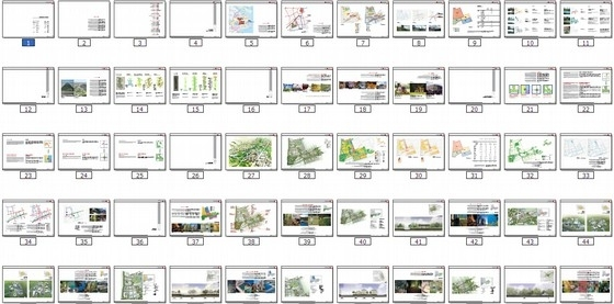 [上海]国际级体育中心景观方案概念规划(著名设计公司)-总缩略图