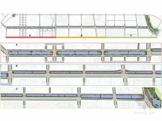 [河北]城市环城水系控制性详细规划方案
