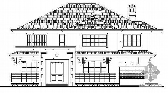 某二层小别墅建筑施工图