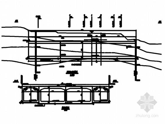 [贵州]时速250公里双线铁路 (7+2-12+7)m 框架桥施工图(知名大院)