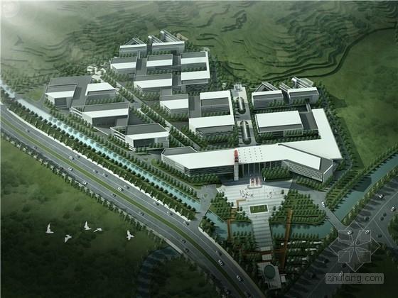 [杭州]绿色环保型电子设备创意产业园设计方案文本(含CAD 配套住宅)