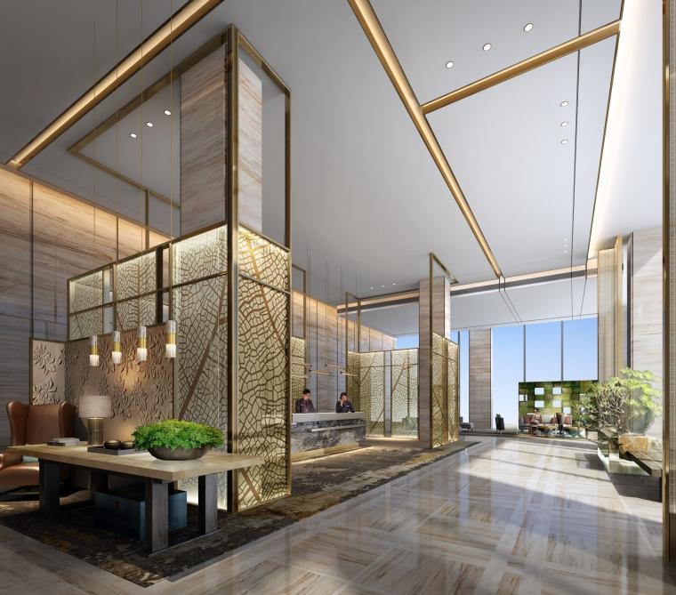 CCD深圳龙华逸林希尔顿酒店概念设计方案册+高清效果图