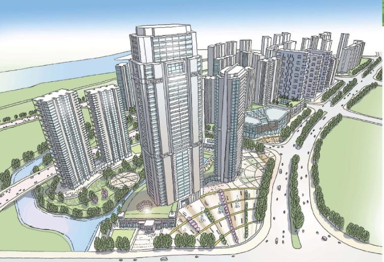 [广东]佛山保利新城城市概念规划设计方案文本